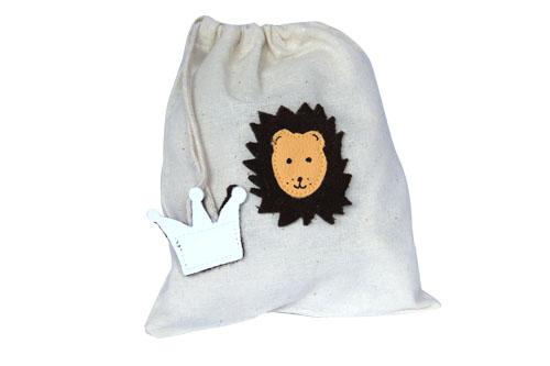 Schluppiebeutel Löwe