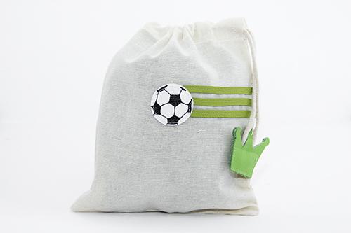 Schluppiebeutel Fussball