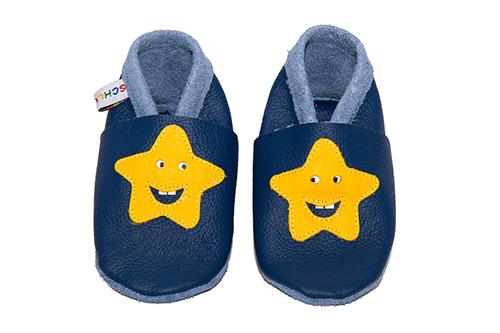 Babyschuhe Stern