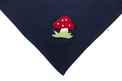 Halstuch Pilz