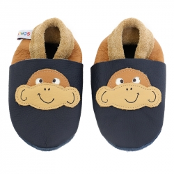 Babyschuhe Affe Hugo